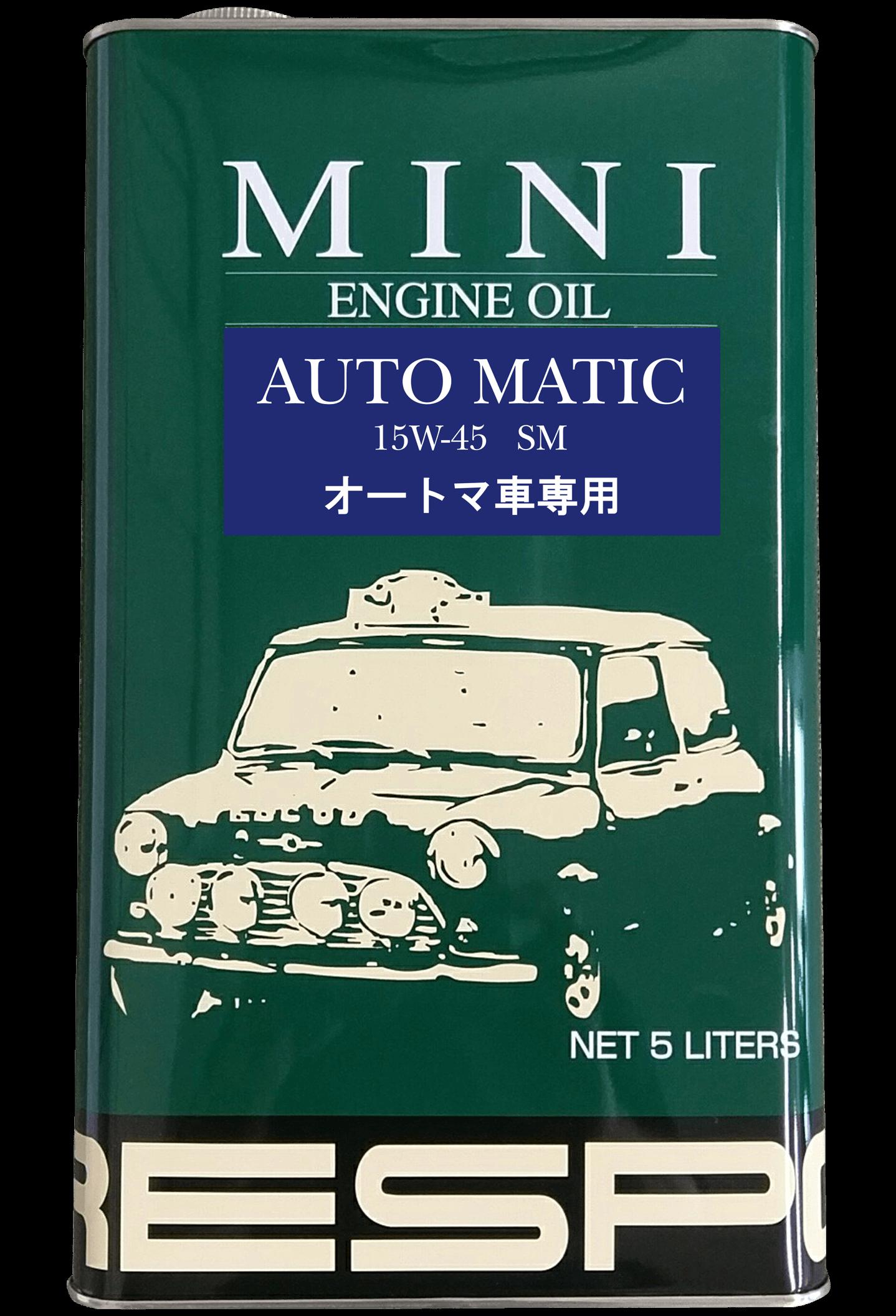 MINI AUTO MATIC 15w-45